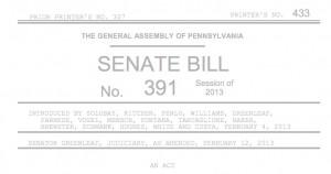 senate bill 391